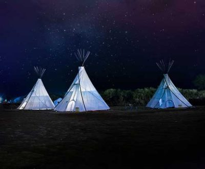 New Year, New Festival Season - Teepee Camping