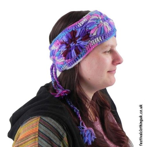 Wool-Festival-Headband-Purple