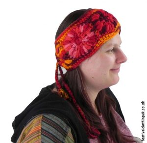 Wool-Festival-Headband-Red