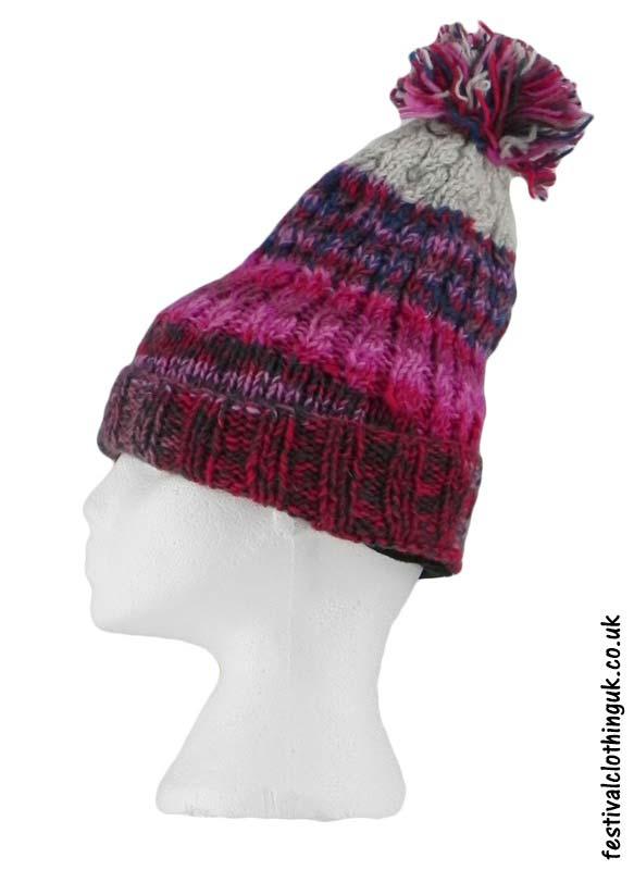 Wool-Pixie-Bobble-Hat-Pink