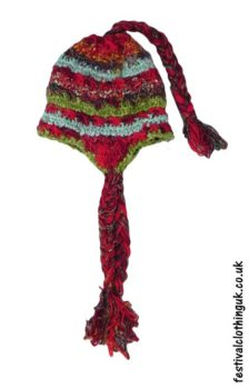 Wool-&-Silk-Mix-Over-the-Ear-Festival-Hat-Red