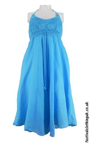 Cotton-Festival-Dress-with-Crochet-Detail-Turquoise