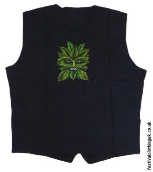 Embroidered-Green-Man-Festival-Waistcoat