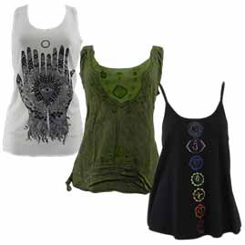 Vest Tops and Blouses