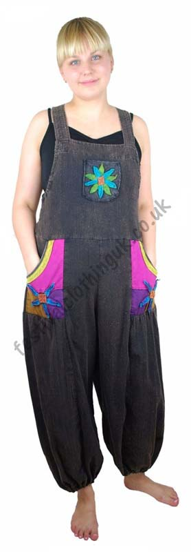 Festival-Dungarees-with-Flower-Design-Example