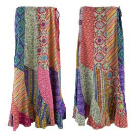 Patchwork Panel Skirts