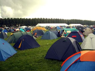 5 Things You Must Take To A Festival - Tents
