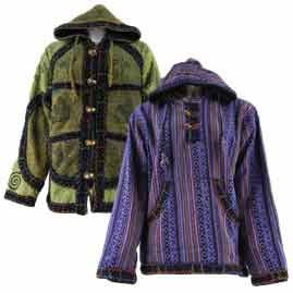 Fleece Lined Jackets and hoodies