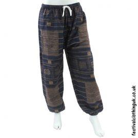 Heavy Cotton Festival Trousers Dark Blue