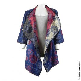 Long-Acrylic-Festival-Shrug-Blue