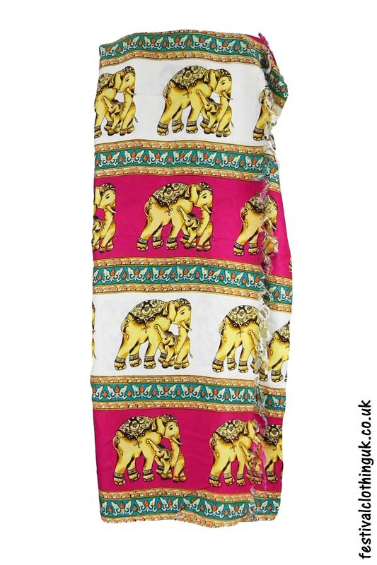 Long-Festival-Sarong-Beach-Wrap-Pink-Elephant