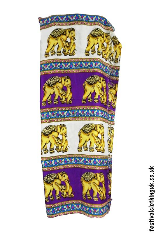 Long-Festival-Sarong-Beach-Wrap-Purple-Elephant