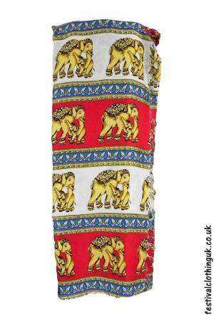 Long-Festival-Sarong-Beach-Wrap-Red-Elephant