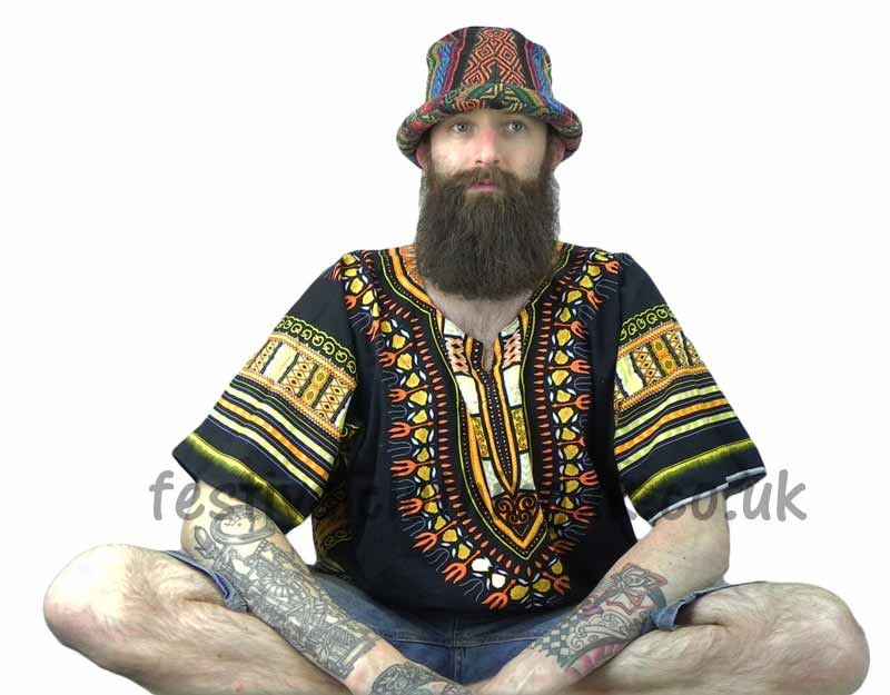 Mens-Festival-Clothing-Hat-and-Dashiki-Top