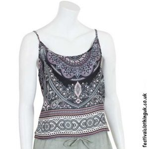Paisley-Mandala-Festival-Crop-Top-Black