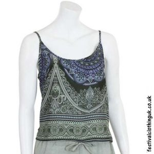 Paisley-Mandala-Festival-Crop-Top-Green
