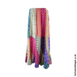 Patchwork-Panel-Multicoloured-Festival-Skirt