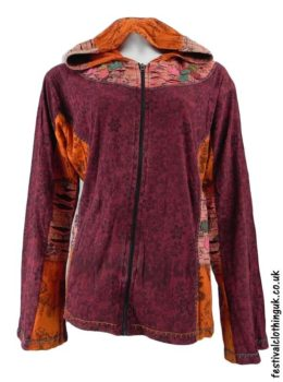 Pixie-Hooded-Embroidery-Festival-Jacket-Burgundy