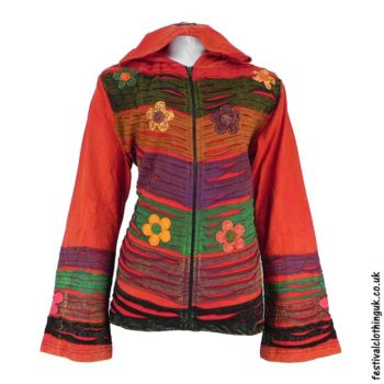 Pixie-Hooded-Embroidery-Festival-Jacket-Red
