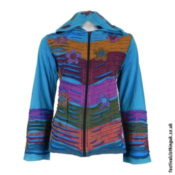 Pixie-Hooded-Embroidery-Festival-Jacket-Turquoise