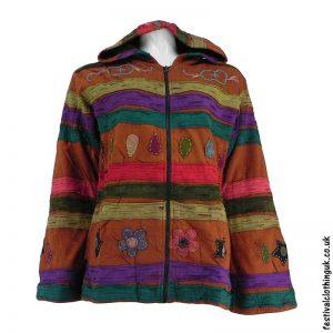 Pixie-Hooded-Fleece-Lined-Festival-Jacket-Brown