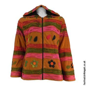 Pixie-Hooded-Fleece-Lined-Festival-Jacket-Rust