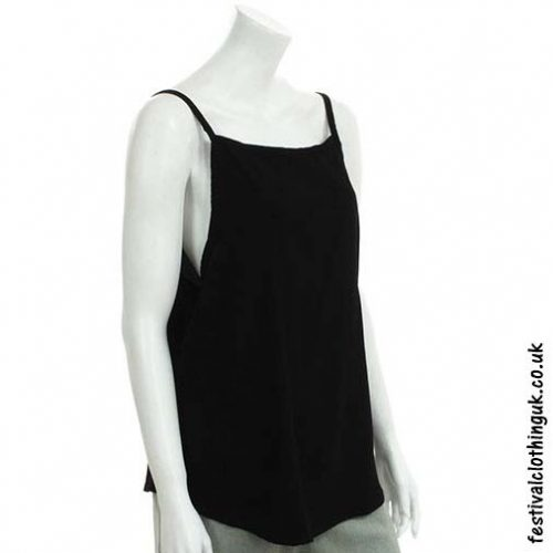 Rayon-Open-Back-Festival-Top-Black