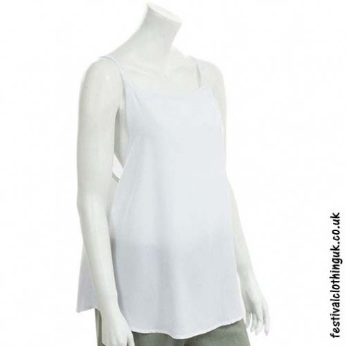 Rayon-Open-Back-Festival-Top-White