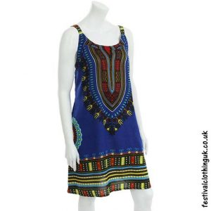 Short-Dashiki-Festival-Dress-Blue