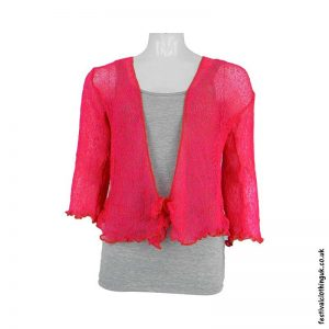 Single-Knit-Bali-Festival-Shrug-Fuchsia-2