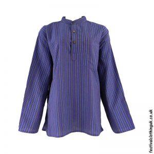 Striped-Collarless-Festival-Grandad-Shirt-PurpleStriped-Collarless-Festival-Grandad-Shirt-Purple