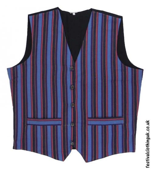 Striped-Cotton-Festival-Waistcoat-Blue-Purple