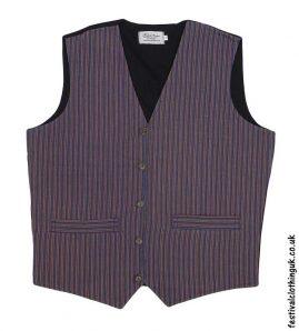 Striped-Cotton-Festival-Waistcoat-Mustard-Green-Blue