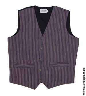 Striped-Cotton-Festival-Waistcoat-Mustard-Green-Blue