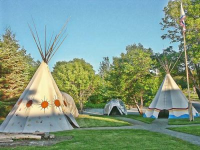 What Is Glamping And Is It For Me? - Tepee Village