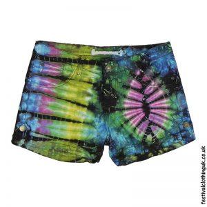 Tie-Dye-Denim-Festival-Shorts