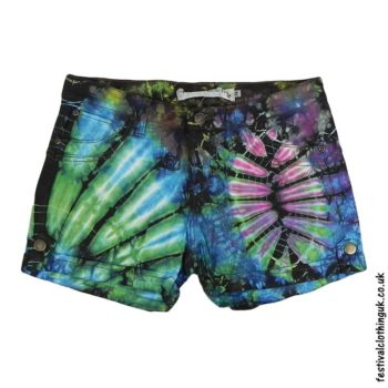 Tie-Dye-Denim-Festival-Shorts