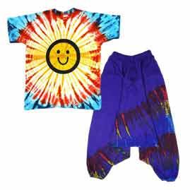 Tie Dye Festival Clothing