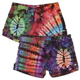Tie Dye Festival Shorts