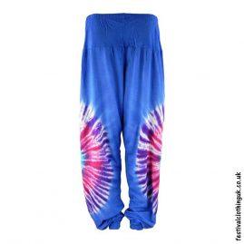 Tie-Dye-Harem-Festival-Pants-Blue