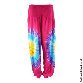 Tie-Dye-Harem-Festival-Pants-Pink