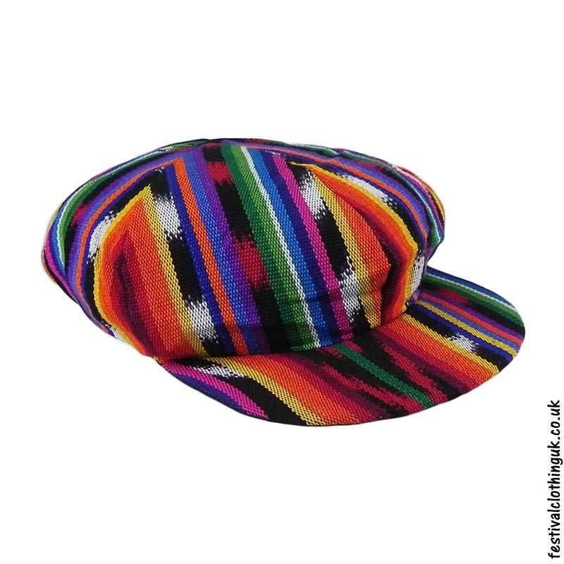 dc562207 Applejack Cap - Multicoloured   Festival Hats   The Festival Clothing Co