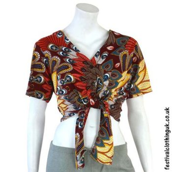 Burgundy-Tropical-Tie-Festival-Crop-Top