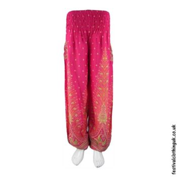 Festival-Harem-Genie-Pants-Pink