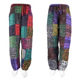 Patchwork Swirl Trousers