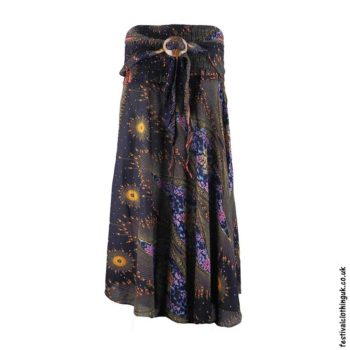 Black-Peacock-Feather-Festival-Skirt