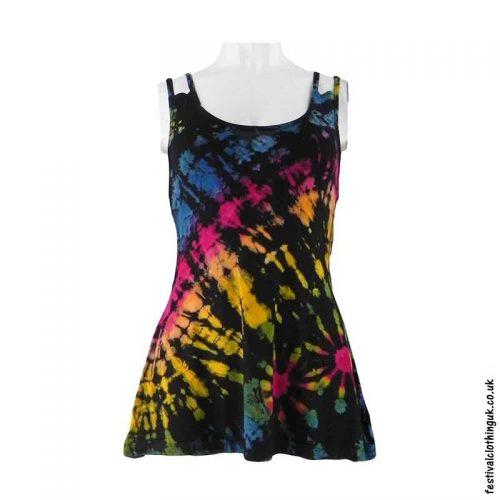 Black-Tie-Dye-Multi-Strap-Festival-Vest-Top