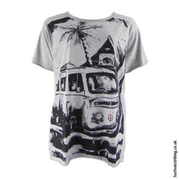 Cotton-Festival-T-Shirt-with-Camper-Van-Design