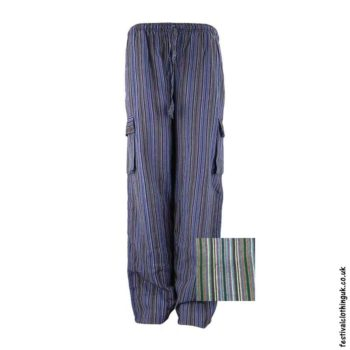 Festival-Cargo-Trousers-Striped-Black-Colour-MIx