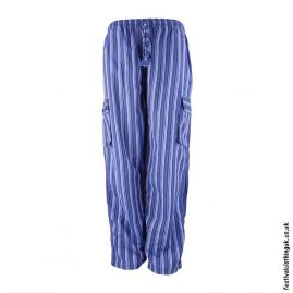 Festival-Cargo-Trousers-Striped-Blue